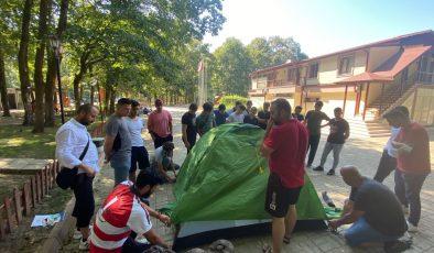 Gençlik Kampları tüm hızıyla devam ediyor