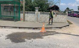 Büyükşehir, beton yaya yolları ile yaya güvenliğini artıyor