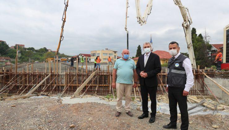 SGK Kavşağı için son betonu attık, 3 ay içinde açmayı hedefliyoruz