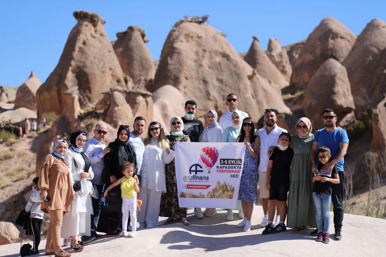 Adafinans'tan personeline Kapadokya jesti