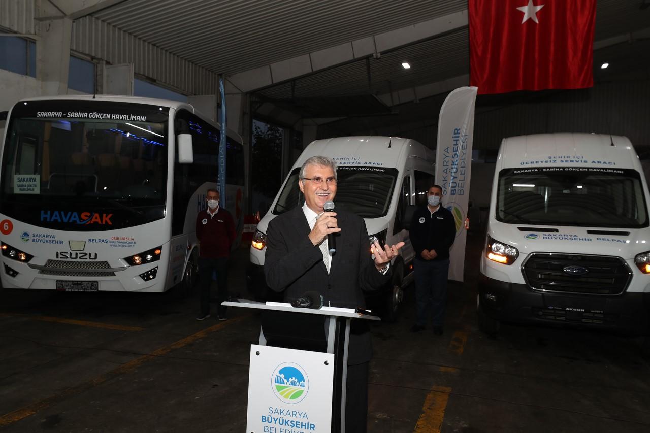 Büyükşehir HAVASAK araç filosunu genişletiyor