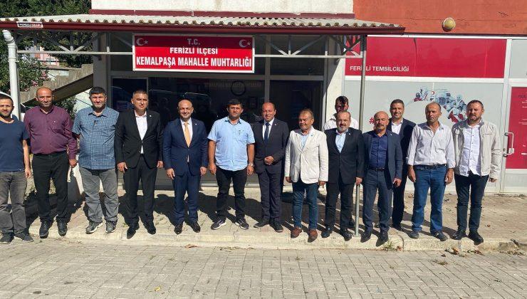 İYİ Parti heyeti Ferizli'de