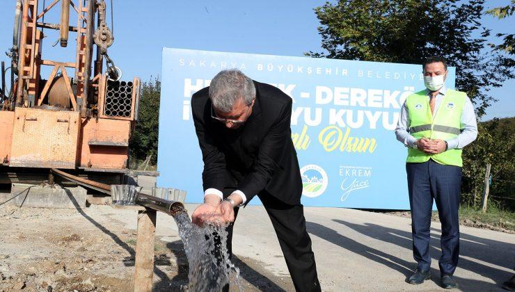 """Başkan müjdeyi paylaştı """"146 bin kişilik alternatif su kaynağına ulaştık"""""""