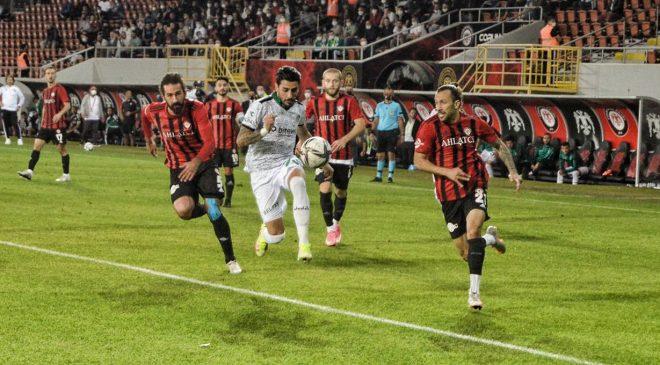 Çorum FK – Sakaryaspor :0-0