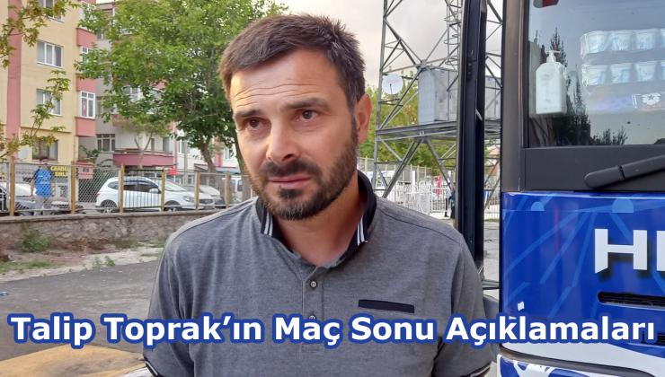 Talip Toprak'ın Fatsa Belediyespor Maçı Sonrası Açıklamaları