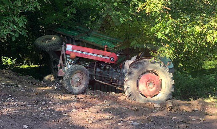 Traktör Kazası 6 Yaralı