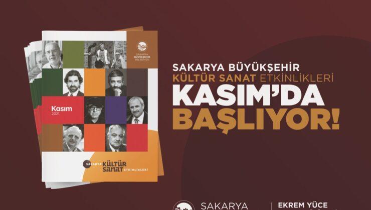 Büyükşehir Belediyesi Kasım Kültür Sanat Takvimi belirlendi