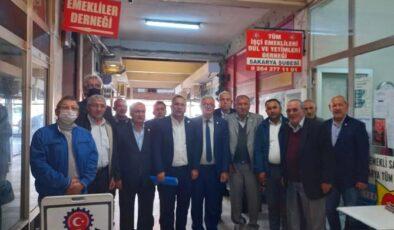 İYİ Adapazarı'ndan Emekliler Derneğine ziyaret