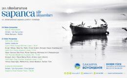 20. Uluslararası Sapanca Şiir Akşamları başlıyor  Şiir şöleni için ilk adres Millet Bahçesi