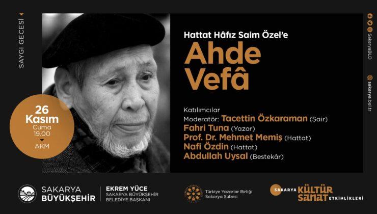 Büyükşehir Belediyesi Kasım Kültür Sanat Takvimi açıklandı