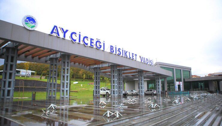 BMX rüzgarı Büyükşehir Ayçiçek Vadisi'nde esecek  Nefes kesen heyecan için geri sayım başladı