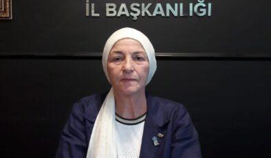 İYİ Parti Sakarya Toplumsal Politikalar Başkanı Nimet Durahim, meme kanserine dikkat çekti